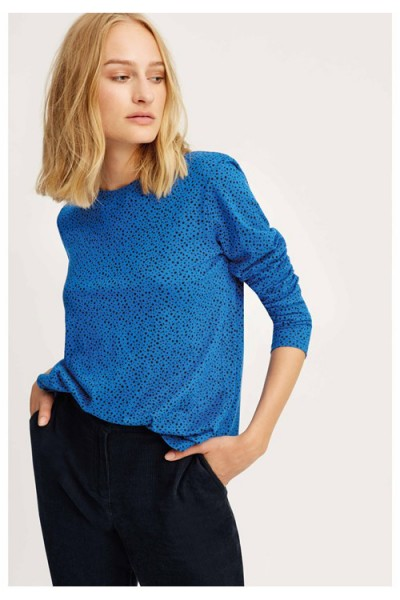 Leta Dot Top blue