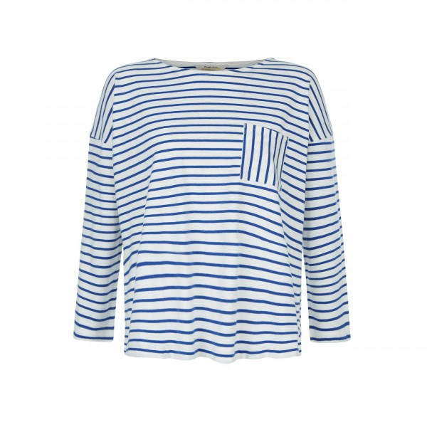 Elba Stripe Top blue