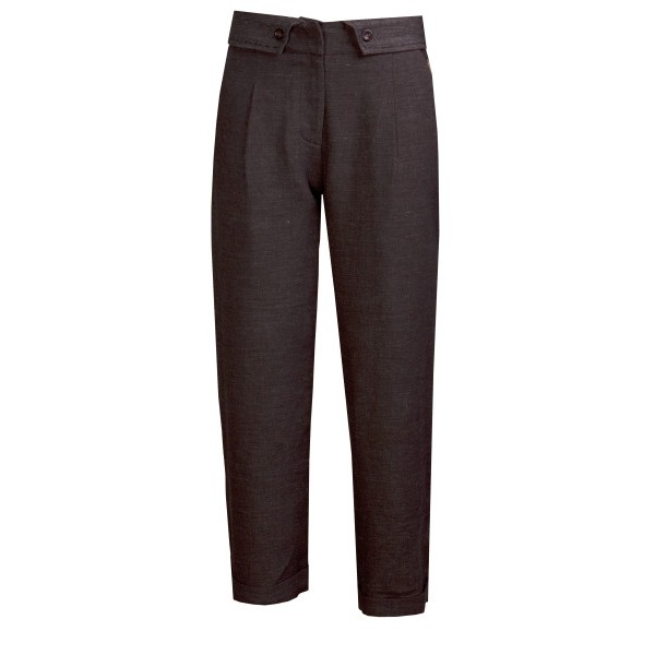 Hose Flare Trousers grey