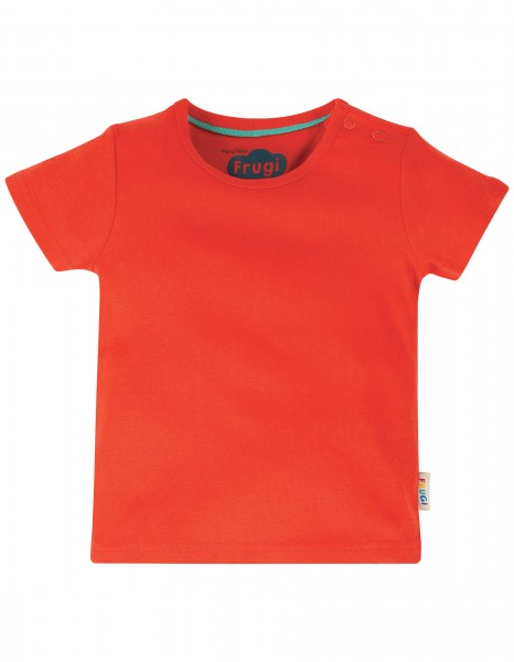 Basic T-Shirt Red für Kinder
