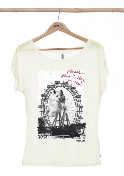 Milli T-Shirt Women Eucalyptus Whisper White
