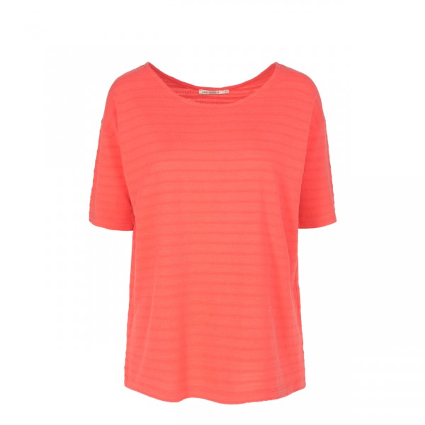 T-Shirt Alaia aus Tencel®-Mix coral red