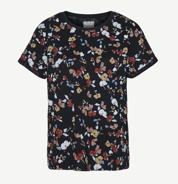 Print T-Shirt aus Bio-Baumwolle Nalin Full Fall Flowers