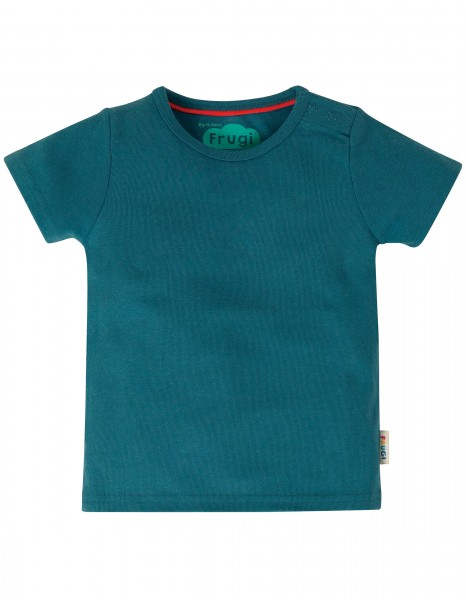 Basic T-Shirt Steely Blue
