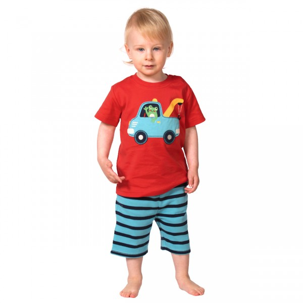 Little Wheels Applique T-Shirt Truck