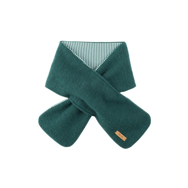 Steckschal Fleece Smoke Green 80 x 12 cm