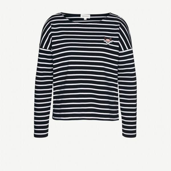 Sweatshirt aus Bio-Baumwolle Filly Stripe Fox