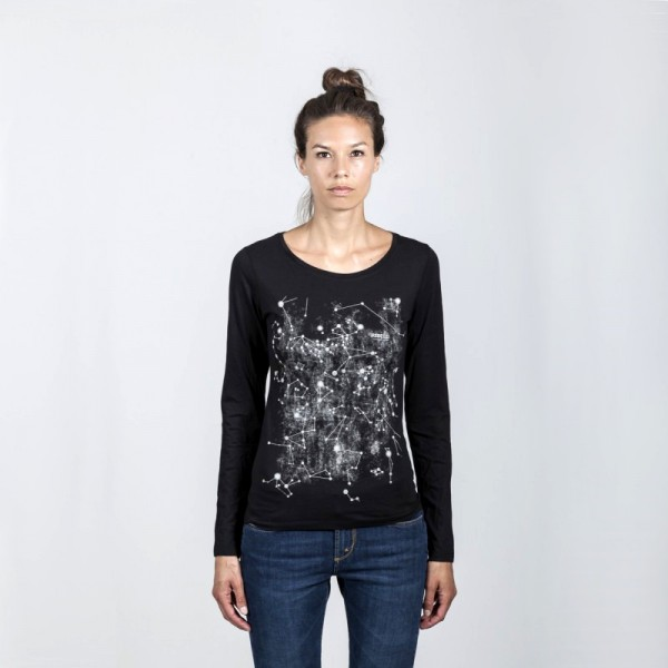 Grace T-Shirt Stars black