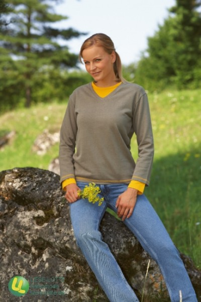 Damen 3/4-Arm Shirt dune