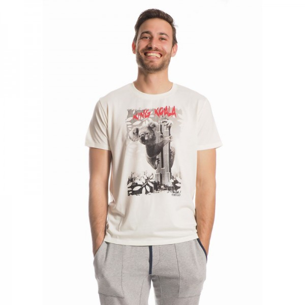 Daniel T-Shirt Men Bamboo King Koala